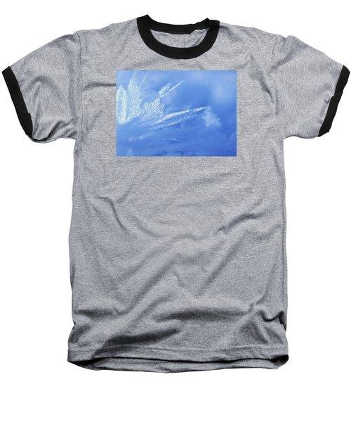 Ice Crystals Baseball T-Shirt