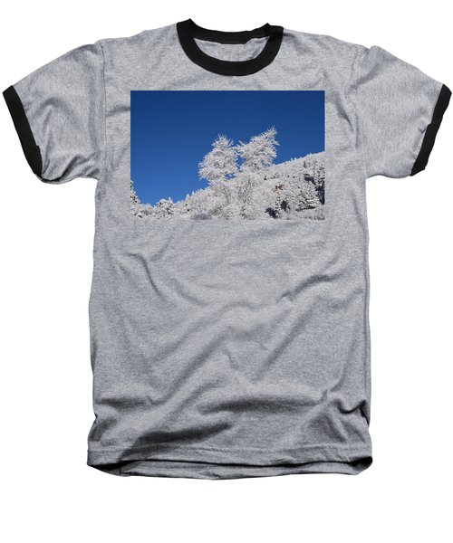 Ice Crystals Ute Pass Cos Co Baseball T-Shirt