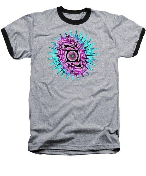 Ice Dragon Eye Baseball T-Shirt