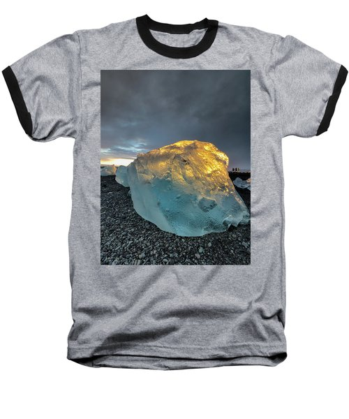 Ice Fish Baseball T-Shirt