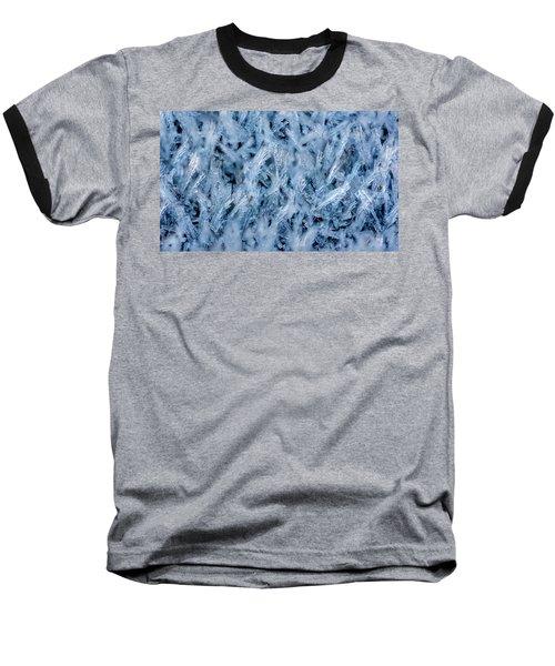 Ice Grass Growing Baseball T-Shirt