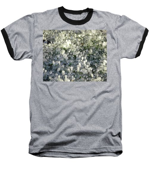 Ice On The Lawn Baseball T-Shirt