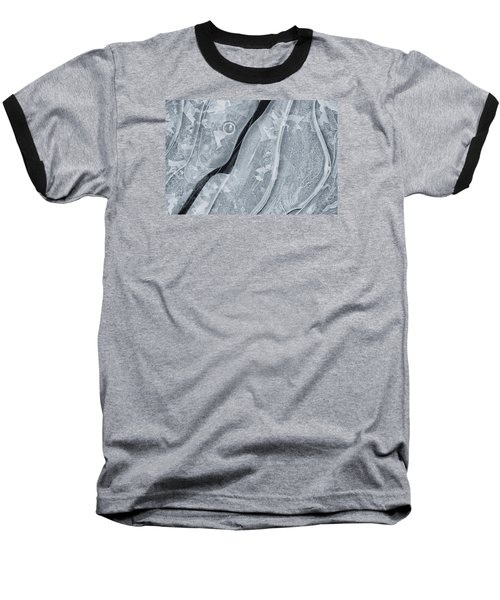 Ice Pattern Baseball T-Shirt