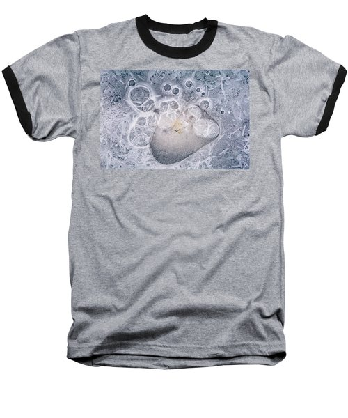 Baseball T-Shirt featuring the photograph Ice Pattern Two by Davorin Mance