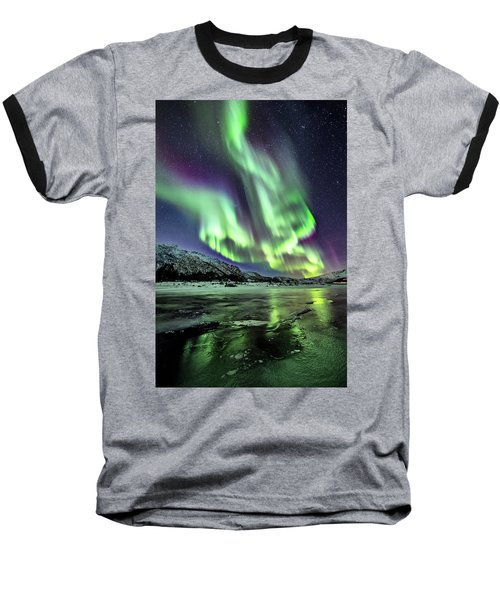 Ice Reflection I Baseball T-Shirt