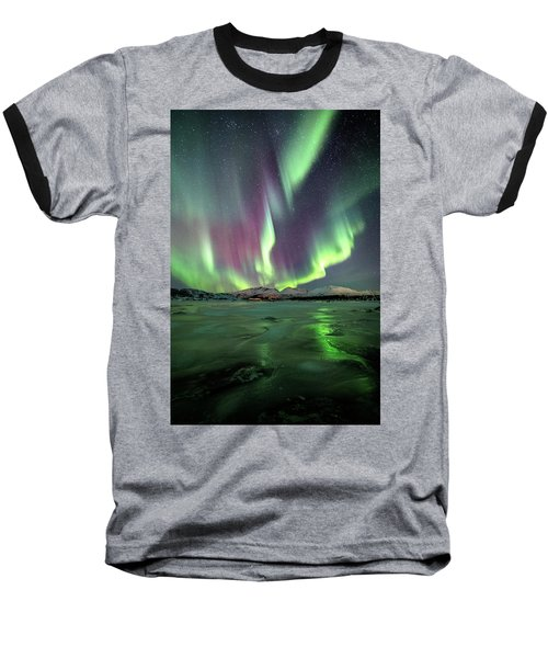 Ice Reflection II Baseball T-Shirt