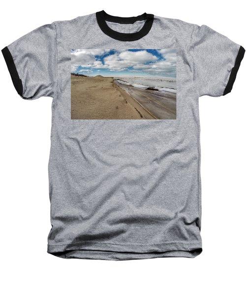 Ice Shelf Baseball T-Shirt