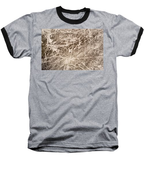 Ice Skating Marks Baseball T-Shirt