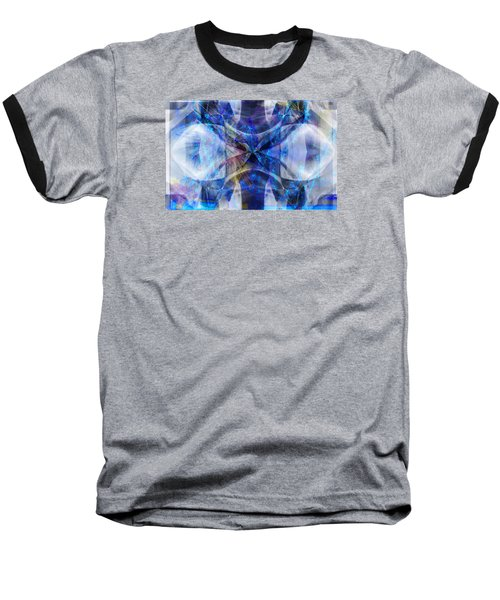 Ice Structure Baseball T-Shirt