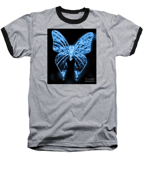Ice Wing Butterfly Baseball T-Shirt
