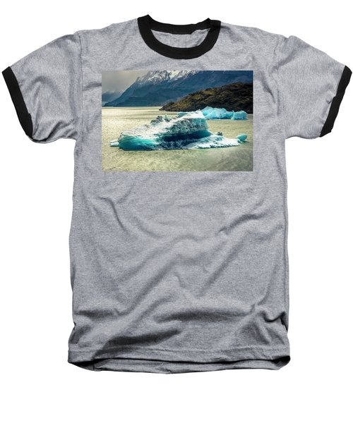 Baseball T-Shirt featuring the photograph Iceberg by Andrew Matwijec