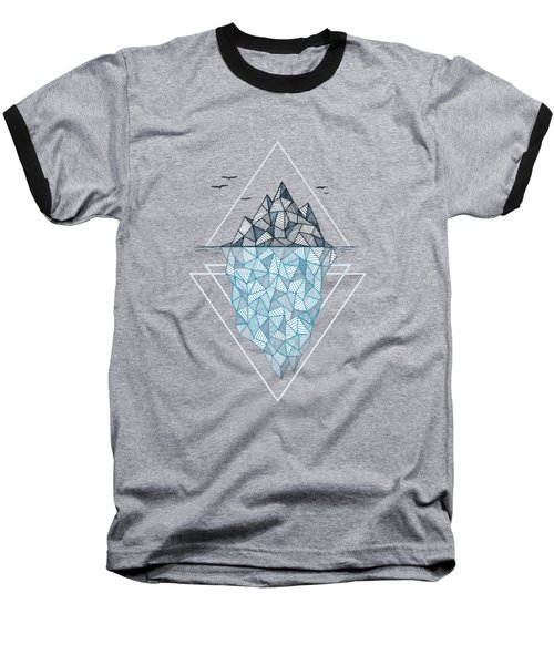 Iceberg Baseball T-Shirt by Barlena