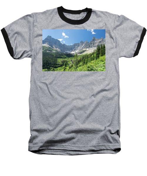 Iceberg Lake Trail - Glacier National Park Baseball T-Shirt