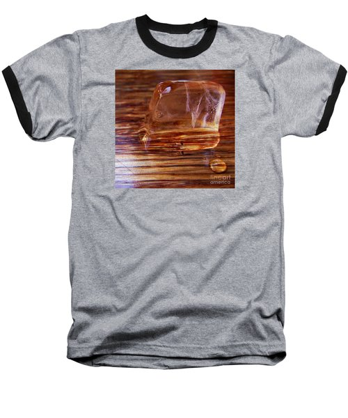 Baseball T-Shirt featuring the photograph Icecube Trail by Vanessa Palomino
