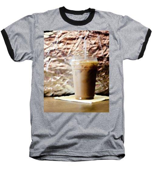Iced Coffee 2 Baseball T-Shirt