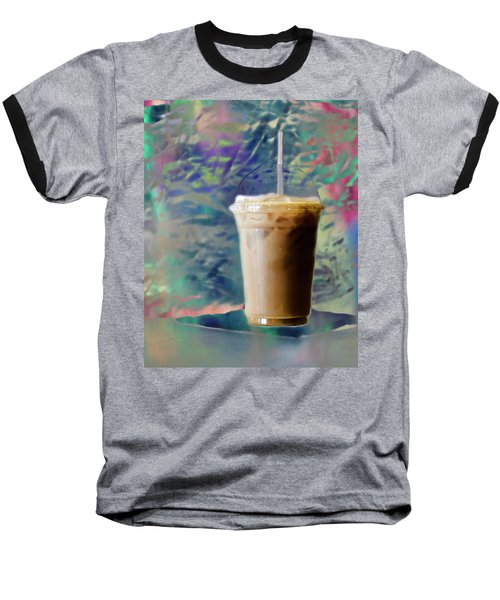 Iced Coffee 3 Baseball T-Shirt