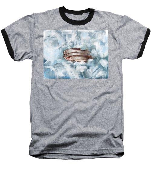 Iced Fish Baseball T-Shirt