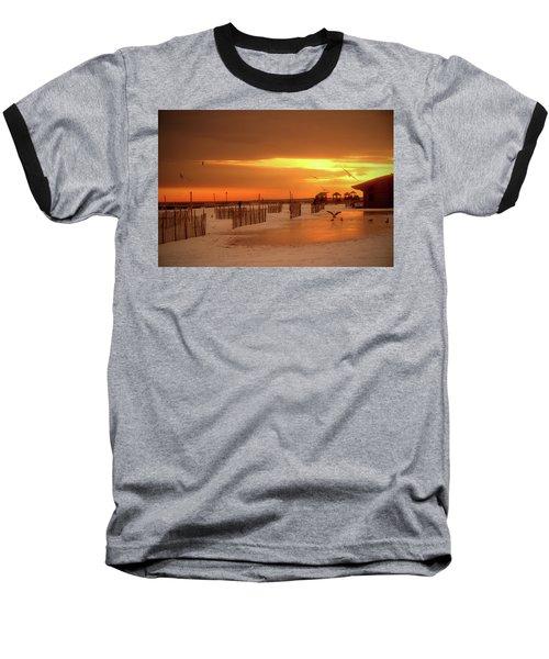 Iced Sunset Baseball T-Shirt