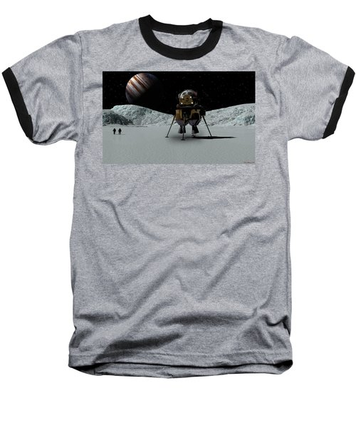 Icefield Landing Baseball T-Shirt