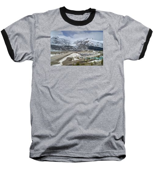 Icefields Parkway Highway 93 Baseball T-Shirt