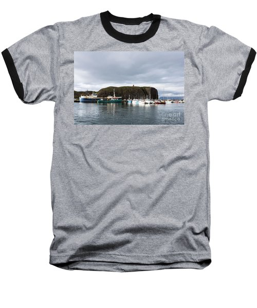 Iceland Fisherman Harbor Baseball T-Shirt