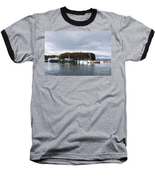 Iceland Fisherman Harbor Baseball T-Shirt