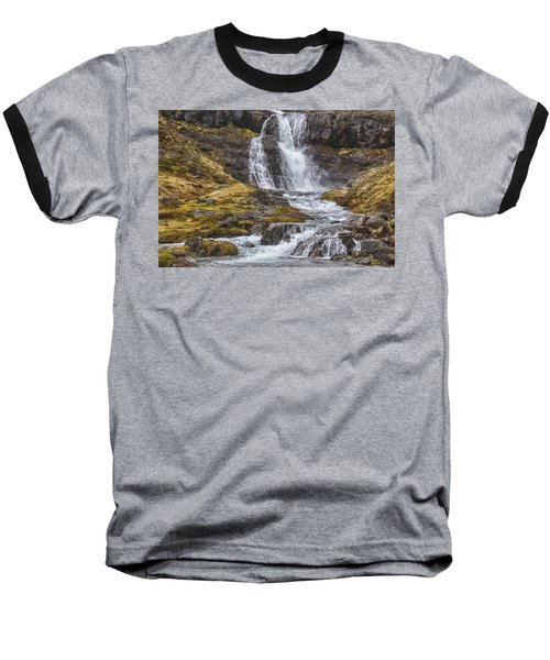 Iceland Fjord 2 Baseball T-Shirt by Kathy Adams Clark