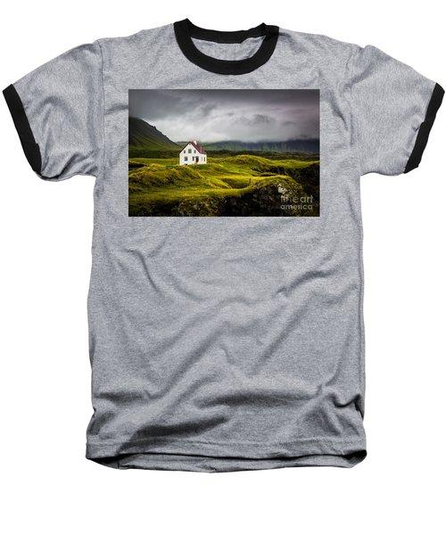Iceland Scene Baseball T-Shirt
