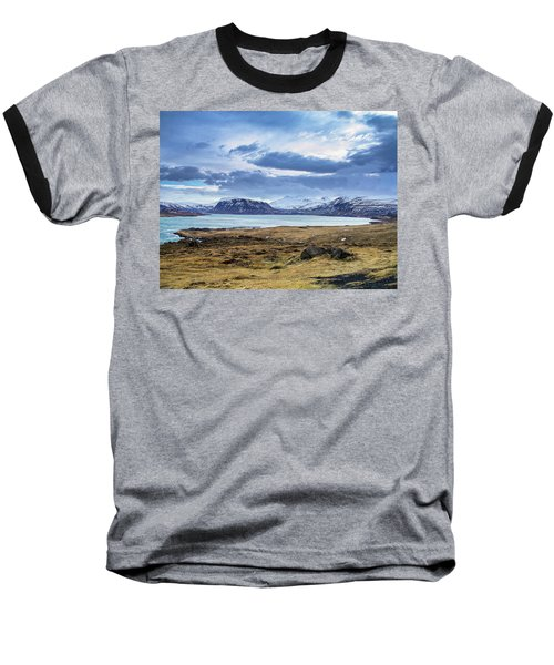 Icelandic Blues Baseball T-Shirt