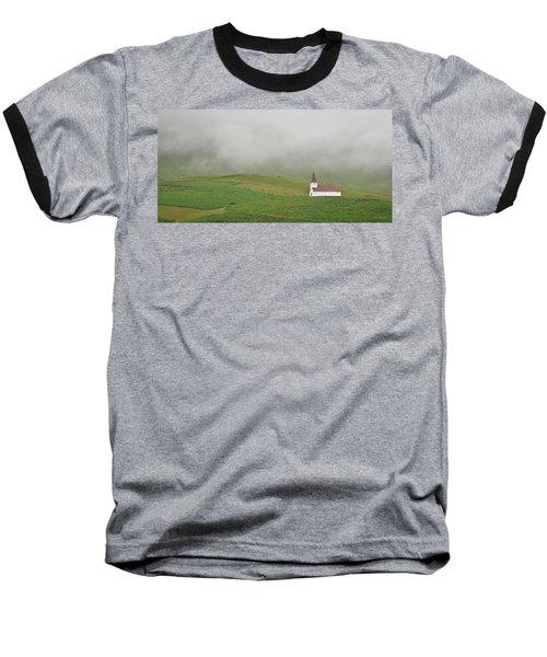 Icelandic Chapel Baseball T-Shirt