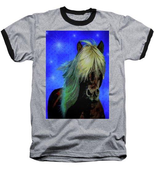 Icelandic Horse Baseball T-Shirt