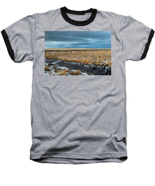 Baseball T-Shirt featuring the photograph Icelandic Landscape by Dubi Roman