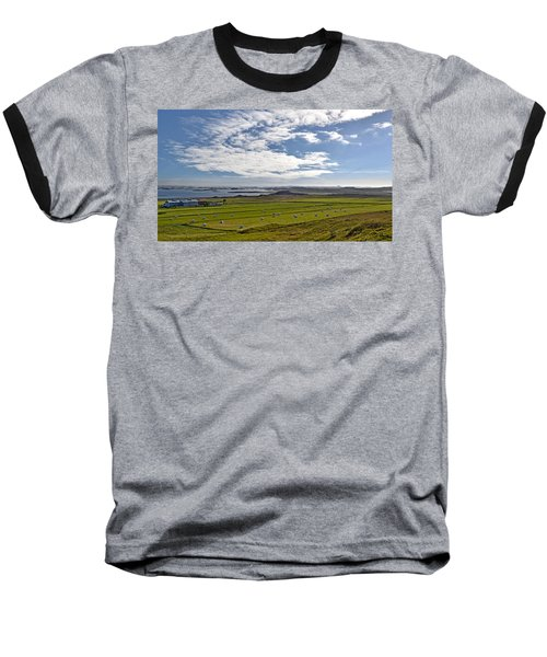 Baseball T-Shirt featuring the photograph Icelandic Panorama by Joe Bonita