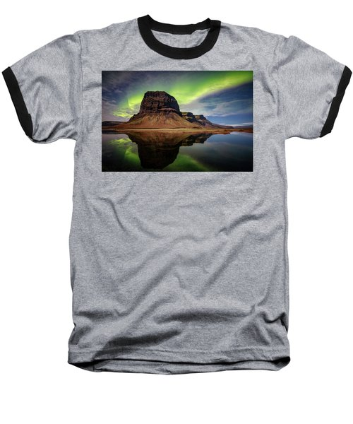 Icelanding Aurora Baseball T-Shirt