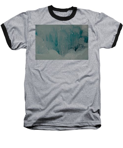 Icicle Blue Beauty Baseball T-Shirt