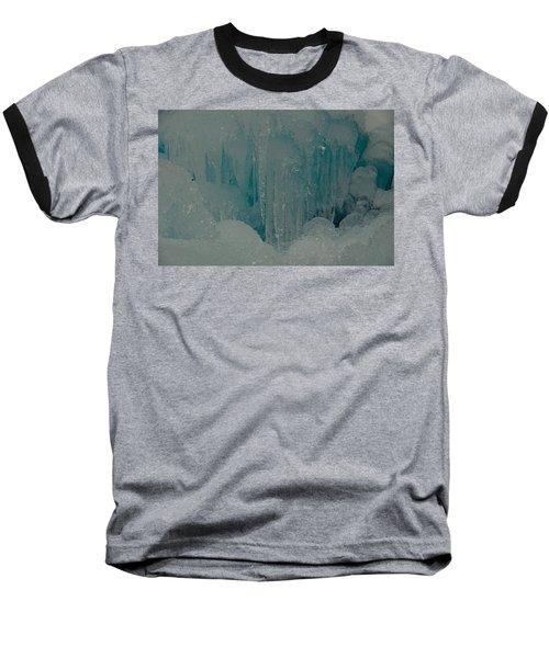 Icicle Blue Beauty Baseball T-Shirt