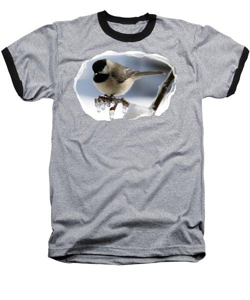 Icicle Perch Baseball T-Shirt