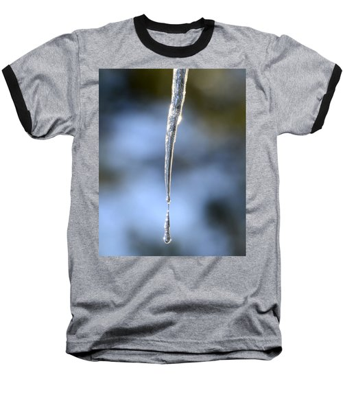 Icicles In Bloom Baseball T-Shirt