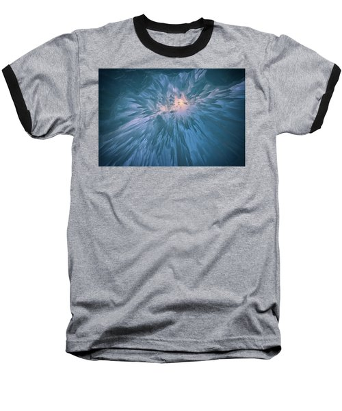 Baseball T-Shirt featuring the photograph Icicles by Rick Berk