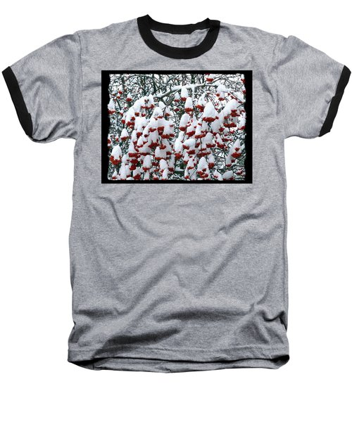 Baseball T-Shirt featuring the digital art Icing On The Cake 2 by Will Borden