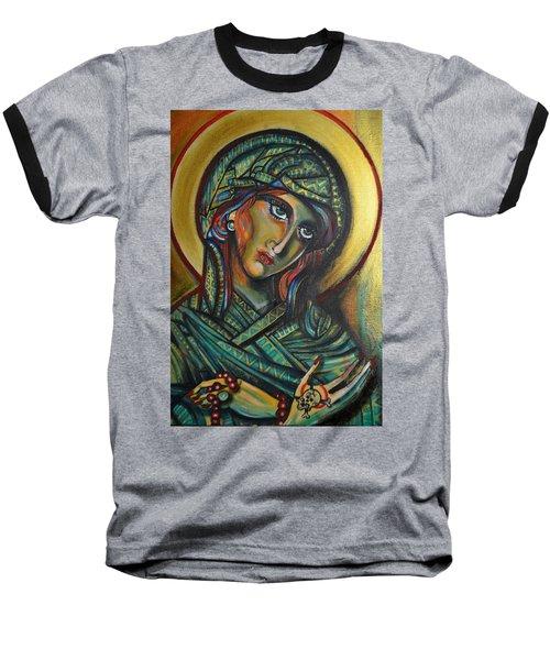 Baseball T-Shirt featuring the painting Icona by Sandro Ramani