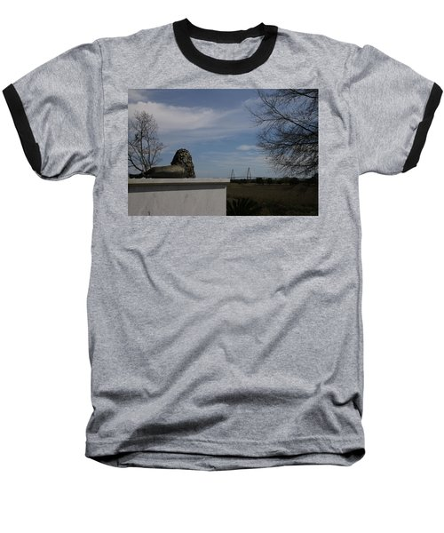 Iconic Landmarks Baseball T-Shirt