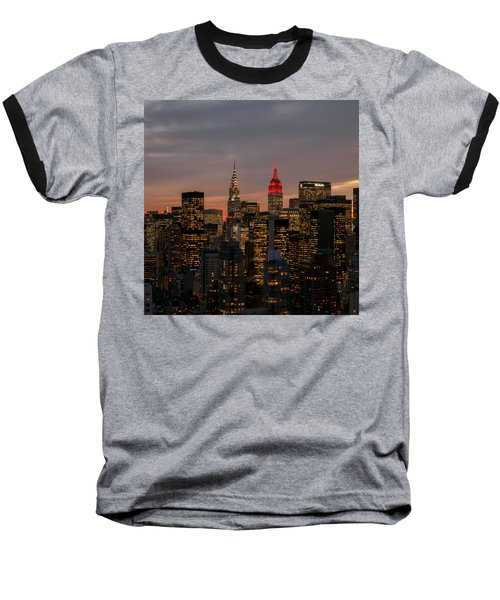 Icons Of Nyc Baseball T-Shirt by Anthony Fields