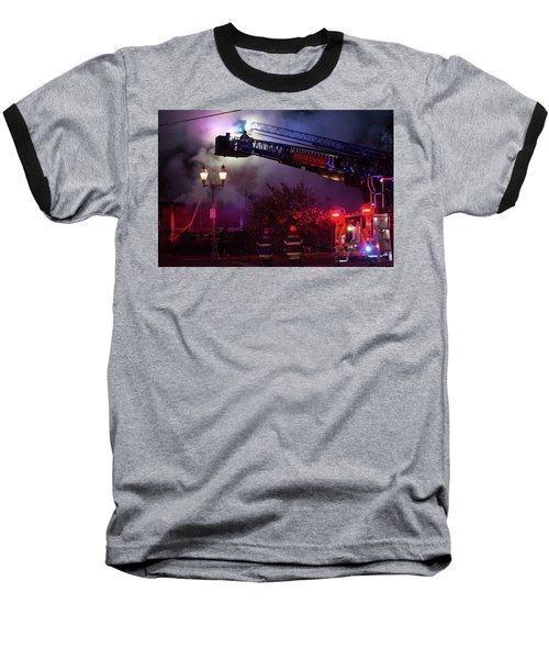 Ict - Burning Baseball T-Shirt