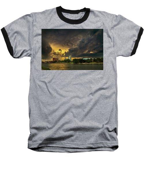 ict Storm - High Res Baseball T-Shirt