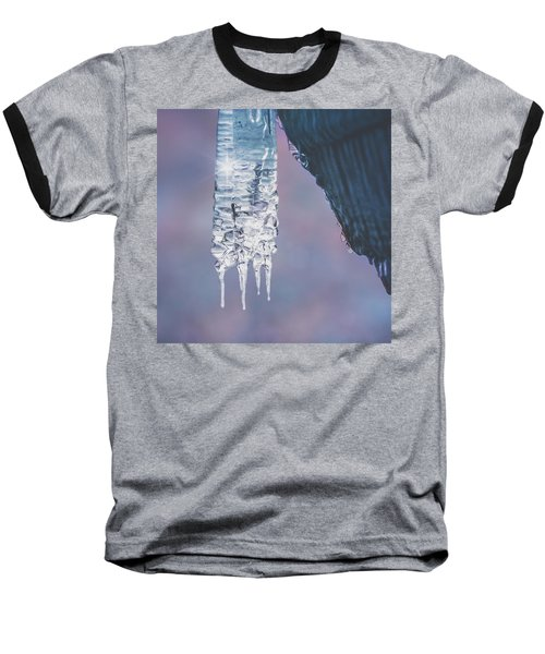 Baseball T-Shirt featuring the photograph Icy Beauty by Ari Salmela