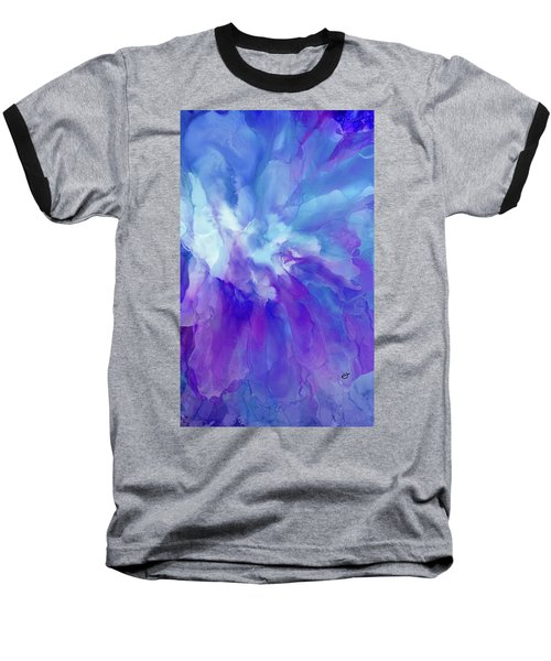 Icy Bloom Baseball T-Shirt