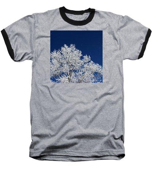 Icy Brilliance Baseball T-Shirt