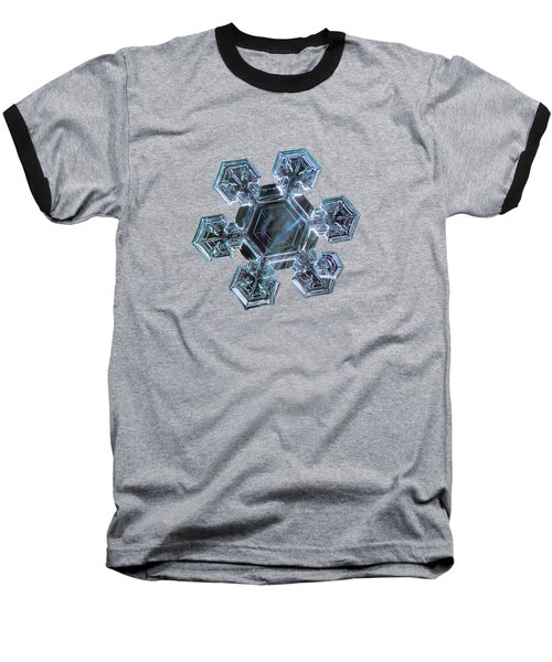 Baseball T-Shirt featuring the photograph Icy Jewel by Alexey Kljatov