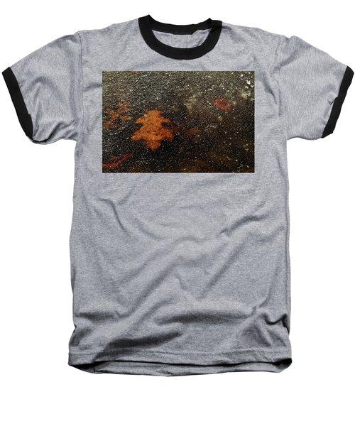 Icy Leaf Baseball T-Shirt